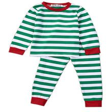 Baby Clothes Sets Boys Sets Girls Sets Cotton Kids Baby Boys Girls Christmas T-shirt Long Pants Sleepwear Pajamas Sets 1-7Years(China (Mainland))