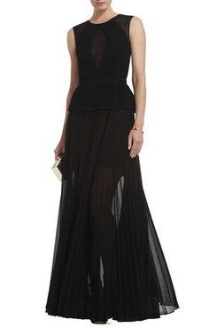 BLACK Black Evening - Karolina Sleeveless Pleated Gown