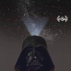 The Home Star Darth Vader Planetarium is a Star Wars-themed planetarium featuring a stunning starscape designed by Takayuki Ohira.