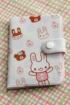 Kawaii Fashion Card Pocket - Little Bunny, $1.50