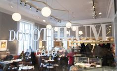 Palais Dorotheum is not only home to art, but also our glamorous café! Click the link for a tour of the Palais.