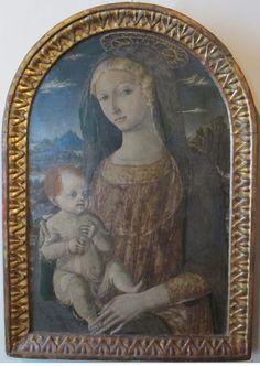 Matteo di Giovanni - Madonna col bambino - Pinacoteca Nazionale di Siena