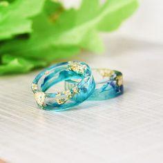 Handmade Ocean Blue Ring