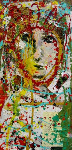Kelli Dubay Collage Mixed Media Memorabilia Smith by Megalomaniart, $1200.00