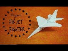 ORIGINAL How to make an F15 Eagle Jet Fighter Paper Plane (Tadashi Mori) - YouTube