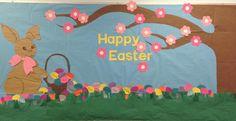 Happy Easter! - Holiday Bulletin Board Idea