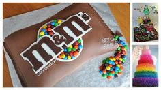 Here are some ways to change an ordinary cake into something colorful and imaginative all with the help of some M&M's!What will you create?(via) The Cake Pro...
