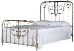 iron bed - antique bronze via abc carpet & home