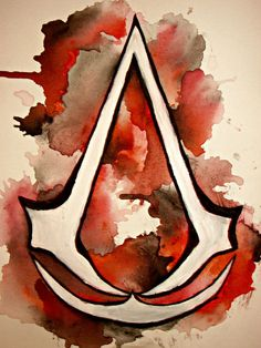 Assassin's Creed painting. Available on etsy.