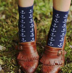 socks anchor style