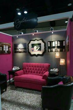 Home Office, City Office, Bridal Show Booths, Beauty Salon Interior, Home Salon, Woman Cave, Waiting Area, Salon Design, Booth Design