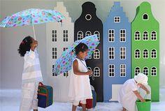 Kast van een huis - Welcome at Kast van een huis. Children's closets that look like city buildings.