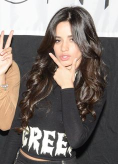 Camila in Mexico meet & greet