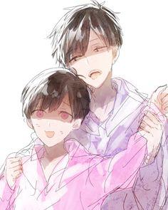 Osomatsu-san- Ichimatsu and Todomatsu #Anime「♡」