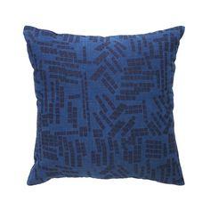 """24 x 24"""" Tiles in Indigo over-dyed in natural indigo"""