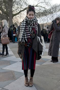 London Fashion Week Fall 2013 #lfw #streetstyle