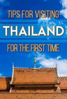 Save yourself from frustrations and embarrassment and learn a little about Thailand before your first trip there. | http://tielandtothailand.com - Great information - http://TheOpportunisticTravelers.com