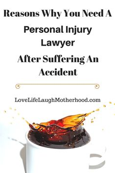 Reasons Why You Need A Personal Injury Lawyer after suffering an accident #legal #personalinjury #lawyer