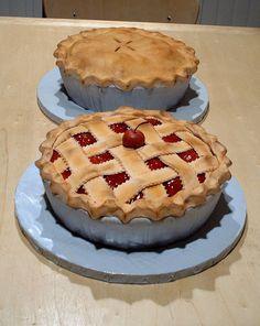 Fondant Cake Pies!