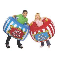 Carnival Inflatable Body Bopper Set - OrientalTrading.com