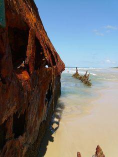 Rusting Hulk - Fraser Island