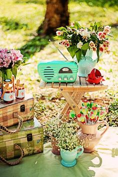 Summer Picnic Birthday Party #summerparty #picnic