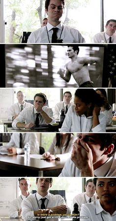Dylan O'Brien as Stiles Stilinski 6X11 #TeenWolf #VOID Stiles #Nogitsune #Stiles Stilinski #mieczyslaw stilinski #SaveTeenWolf