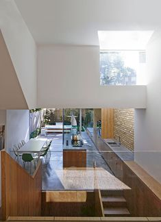 Coffey Architects converted the Well House a 5 bedroom Edwardian terraced house in Highbury, London