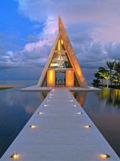Conrad Hotel, Bali, Indonesia - (Destination: the World) Dining on the water! Conrad Hotel Bali, Dream Vacations, Vacation Spots, Vacation Places, Vacation Travel, Beach Paradise, Places To Travel, Places To See, Travel Destinations