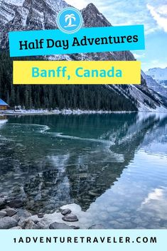 How to explore and find the best Banff Half-Day Adventures. Travel to Banff Canada for some excitement and majestic beauty. Check here if you are looking for a great hike, family travel or just ultimate place to take travel photographs in Banff Canada. Us Travel Destinations, Quebec, Travel Guides, Travel Tips, Travel Abroad, Vancouver, Toronto, Road Trip, Columbia