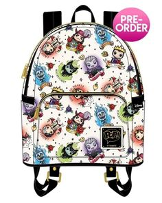 Flaunt Your Bad Side With The Disney Villains Tattoo Mini Backpack