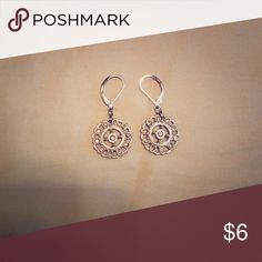 Shimmery gold earrings Perfect Condition, Shimmery Gold Fashion Earrings that look So Pretty On💕 these are from American Eagle. American Eagle Outfitters Jewelry Earrings