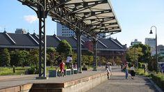 旧横浜港駅プラットフォーム