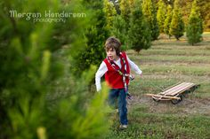 Raleigh Durham Christmas photography mini sessions photography Jordan Lake Christmas Tree Farm www.morganhendersonphotography.com