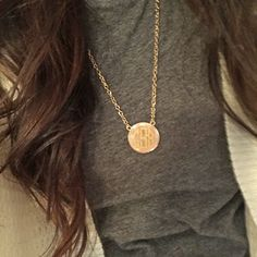 Monogrammed Long Preppy Necklace | MARLEYLILLY