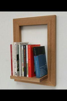 Boekenplank / schilderij [[frame your books]]