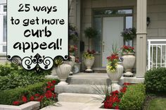 25 Ways to Get More Curb Appeal!