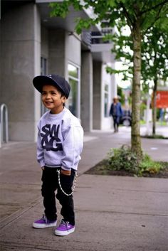 my children will have swag, no doubt. It's in our blood!