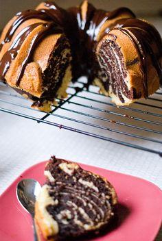 Gâteau Couronne Zébré