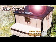 Solar Powered Fan Chicken Coop Version - YouTube