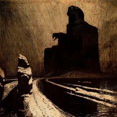 Frantisek Kupka, The Black Idol (Resistance), 1903