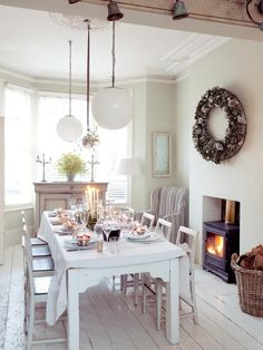 lovely dining room