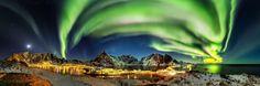Auroras boreales sobre Hamnøy, Noruega – El Universo Hoy