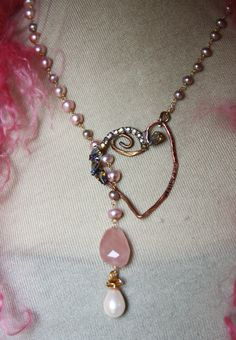 The Princess saves her own day...ha  SOLD Vintage w pearls one of a kind