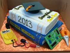 electrical engineering cake | Electrical Engineer Grad Cake!!! — Graduation