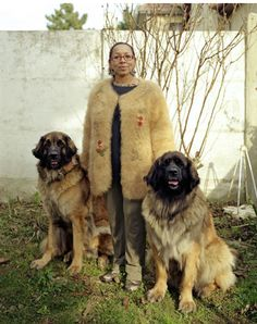 Cheingora; Wearing The Hair Of The Dog. Portraits Of People In Clothes Made From Their Pets' Fur.