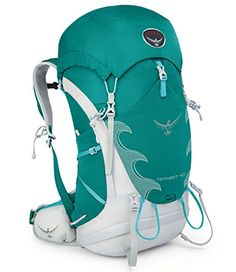 Osprey Packs Womens Tempest 40 Backpack Tourmaline Green SmallMedium >>> You can get additional details at the image link.
