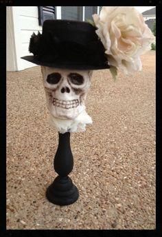 Stunning Skull Halloween Decoration for Halloween by JeanKnee, $22.00