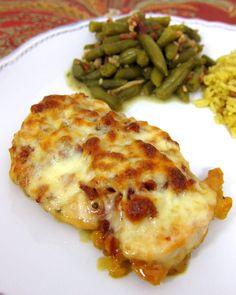 Cheesy Honey Mustard Chicken | Plain Chicken
