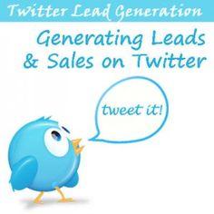 Twitter lead generation methods